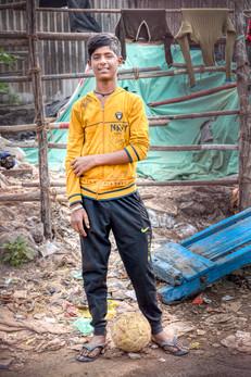 Le joueur de foot