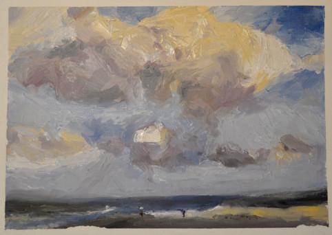 Devon Seaside Clouds