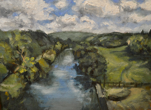 River Avon from the aquaduct