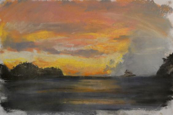 Sunset study 3