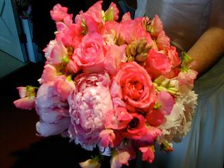 Orange Weeding Bouquet