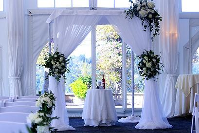 Roberta Wedding chuppah