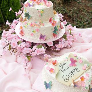 Baptism Celebration Cake