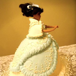 Fancy Doll Cake