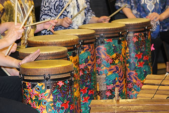African Event Drums