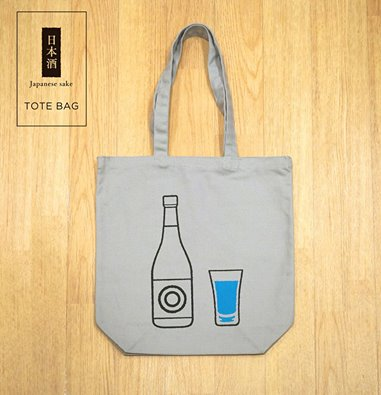 sazanka/日本酒トートバッグ