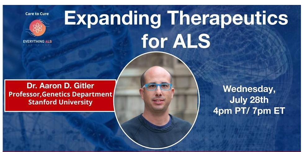 Expanding mechanisms and therapeutic targets for ALS