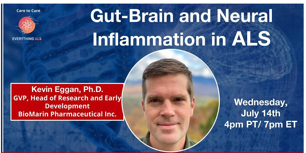 Contributions from the gut-brain axis to neural inflammation in ALS