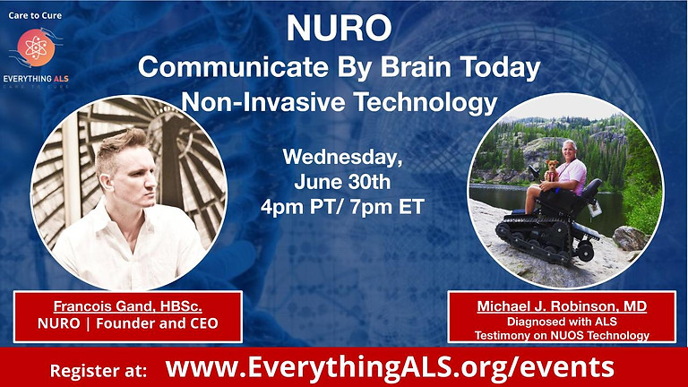 NURO Communication by Brain - Non-Invasive Technology