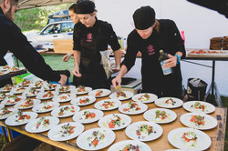 Teamwork, catering for large groups