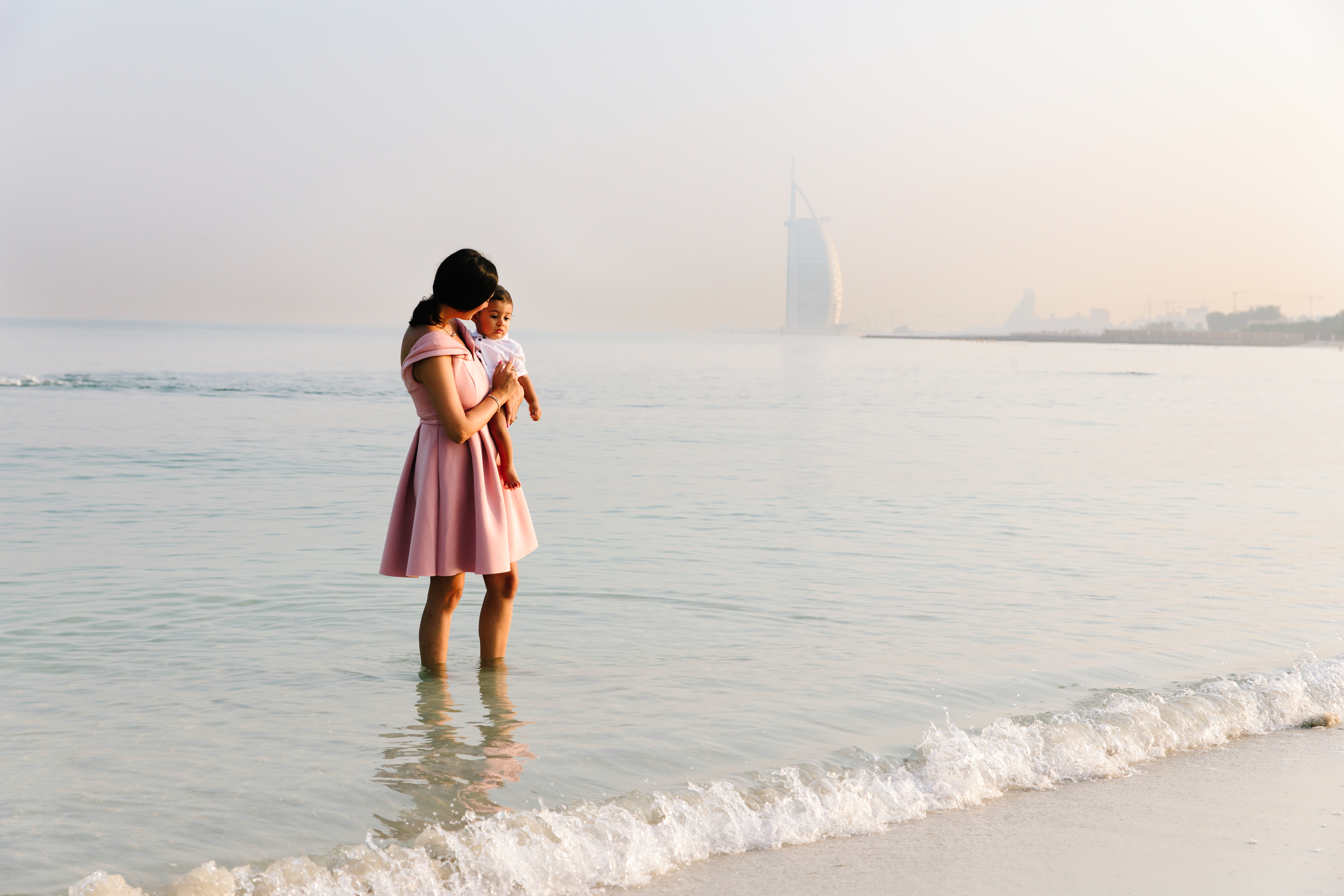 Beach Family photographer dubai