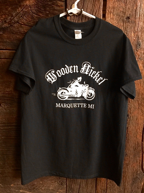 Wooden Nickel Motorcycle T-Shirt
