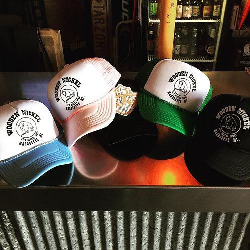 Wooden Nickel Trucker Hat