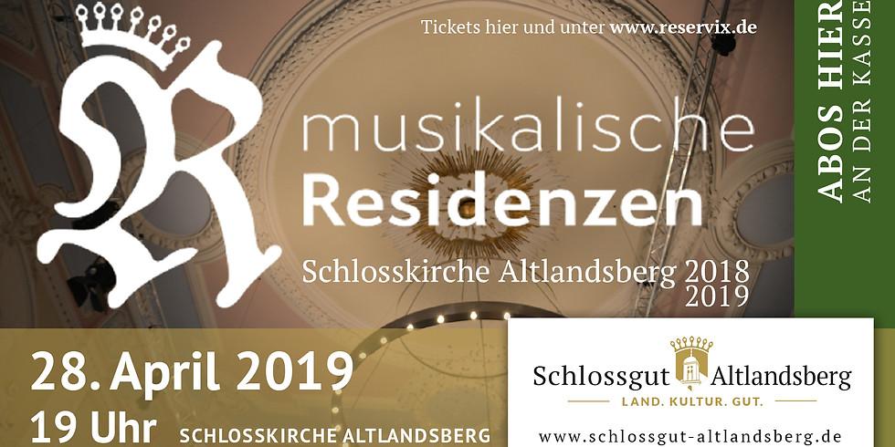 Musikalische Residenzen 2018/19: Die Kunst des Ausdrucks