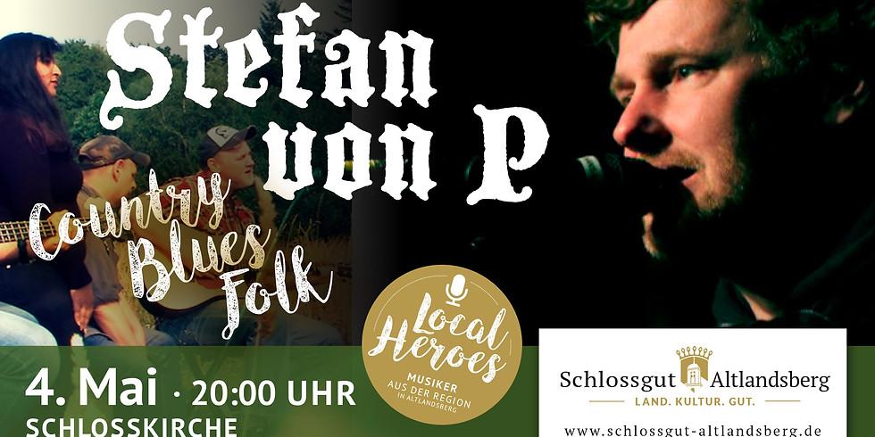 Fine Acoustic Country & Blues: Stefan von P.