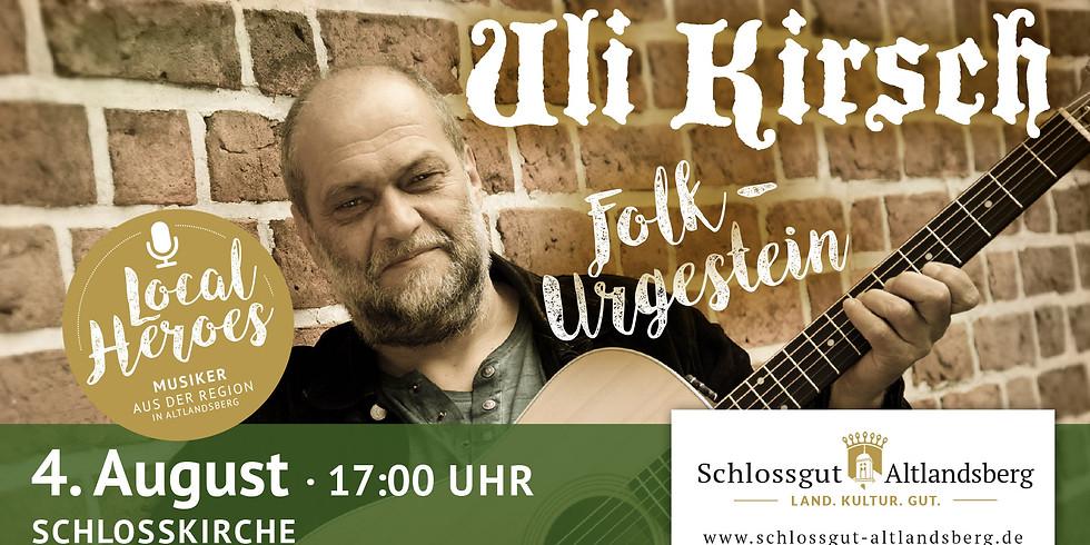 Folk-Abend mit Uli Kirsch