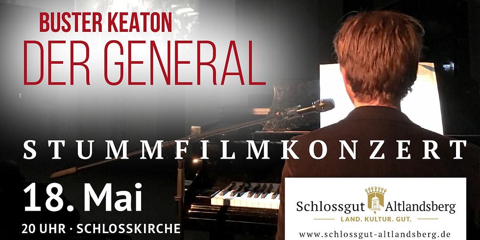 "Kino: Stummfilm-Konzertabend - Buster Keaton's ""Der General"""