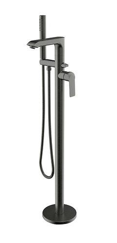 Alvar Graphite Freestanding Bath Mixer