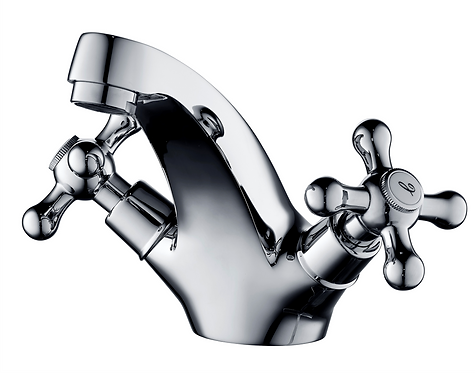 Roma Basin Mixer Cast Spout