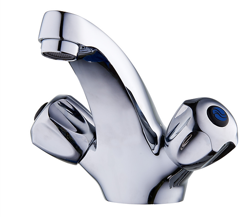 Serene Basin Mixer Cast Spout