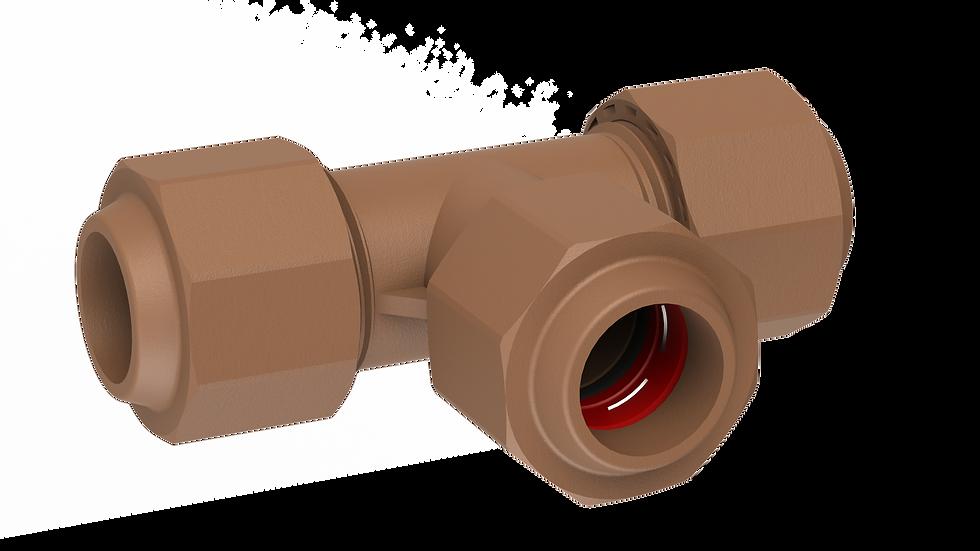 Tee CxCxC , 22mm
