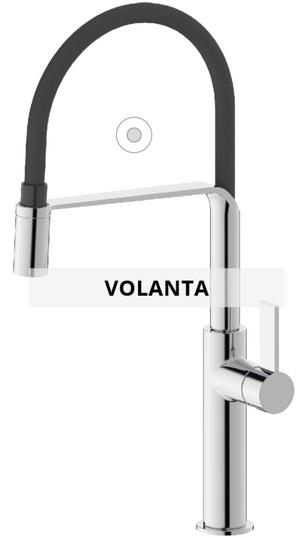 Volanta sink mixer technical sheet