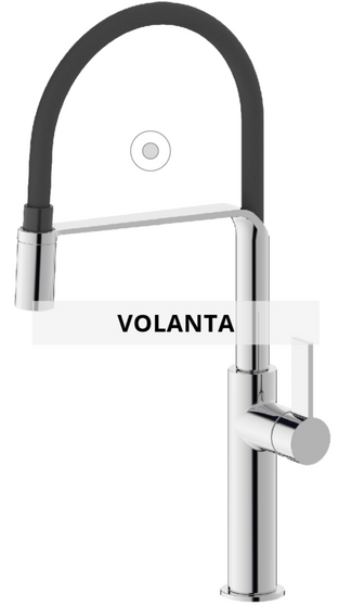 Volanta sink mixer technical sheet