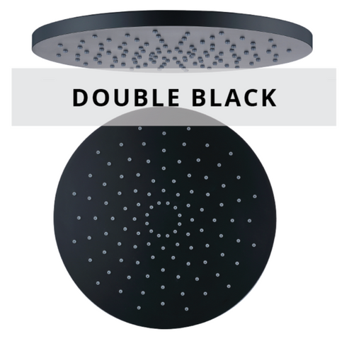Double black shower series technical sheets