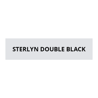 STERLYN DOUBLE BLACK SERIES