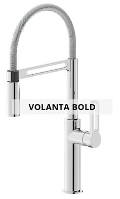Volanta bold sink mixer technical sheet