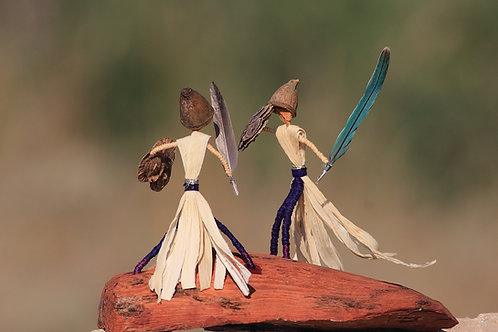 זוג טרובלים לוחמים