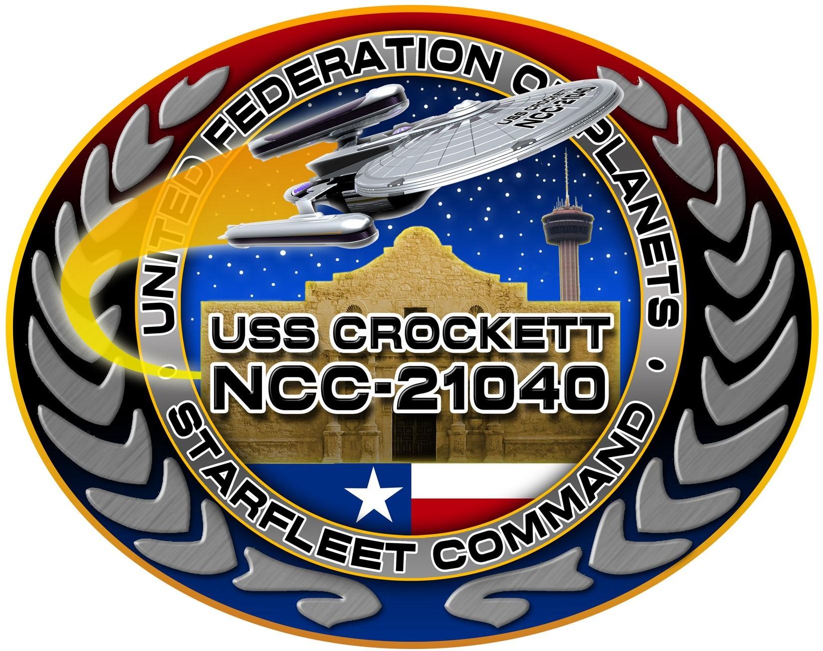 USS Crockett Logo 2