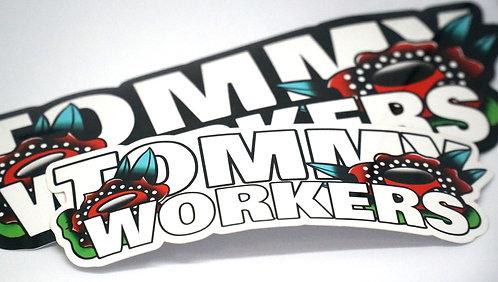 ロゴステッカー sticker 2枚セット【送料無料】