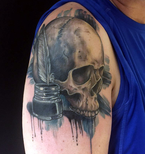 Healed cover up