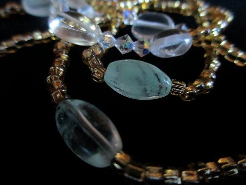 serenity glow w. swarovski crystal