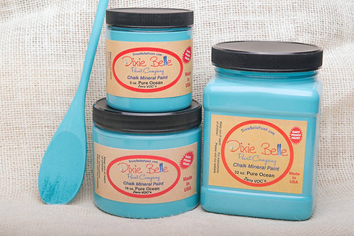 PURE OCEAN-Dixie Belle Chalk Mineral Paint-for Furniture/Cabinets/Any Surface