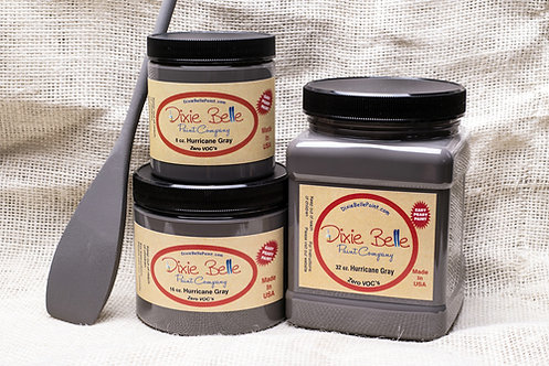 HURRICANE GRAY- Dixie Belle Chalk Paint- for Furniture/Cabinets/Any Surface