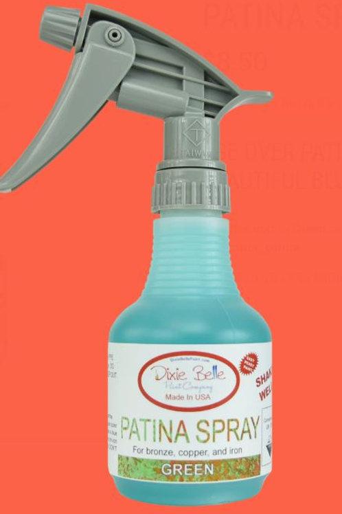 Patina Spray Green