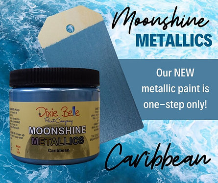 Caribbean Moonshine Metallic Paint-DIXIE BELLE-For Furniture / Any Surface