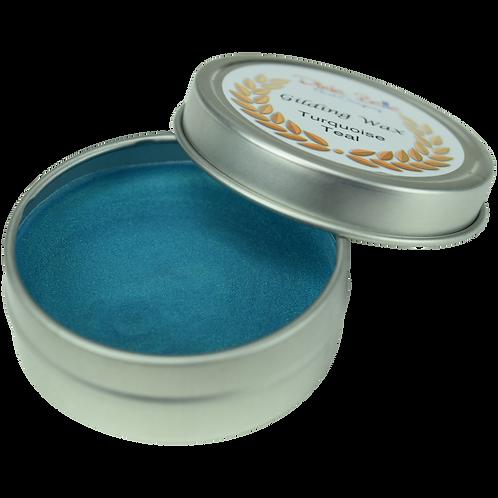 Turquoise Teal Gilding Wax