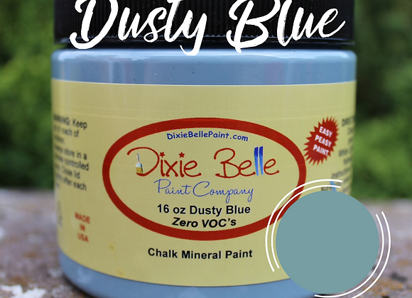 DUSTY BLUE CHALK MINERAL PAINT