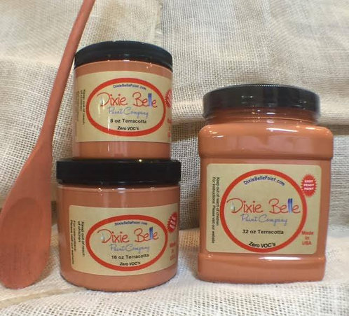 TERRACOTTA 16oz Only!-Dixie Belle Chalk Paint-for Furniture/Cabinets/Any Surface