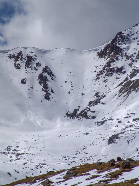 Pass near Ala-Kul lake, Kyrgyzstan