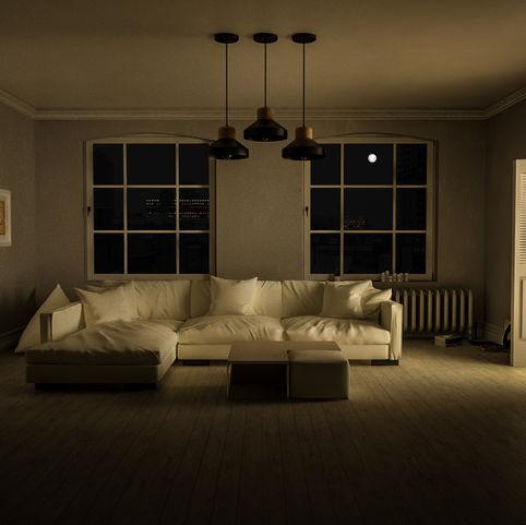 "Flat apartment ""Evening"" render"