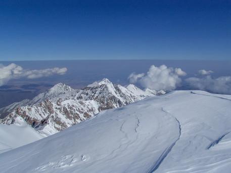 View from Peak Uchitel, Kyrgyzstan