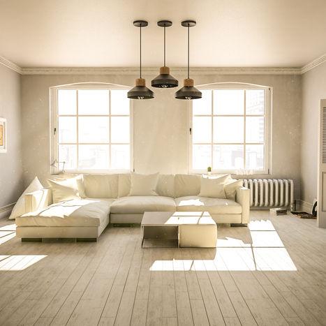 """Flat apartment """"Morning"""" render"""