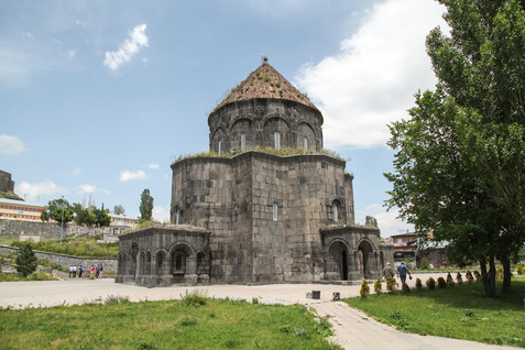 Araqelots Armenian church in Kars, Turkey