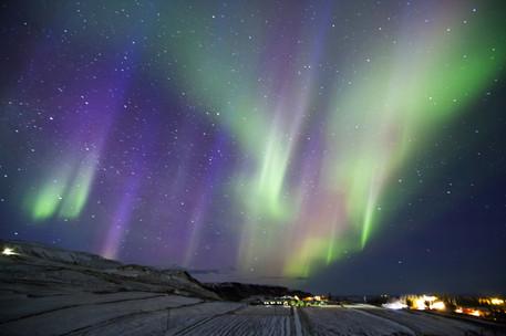 Northern lights (Aurora Borealis), Iceland