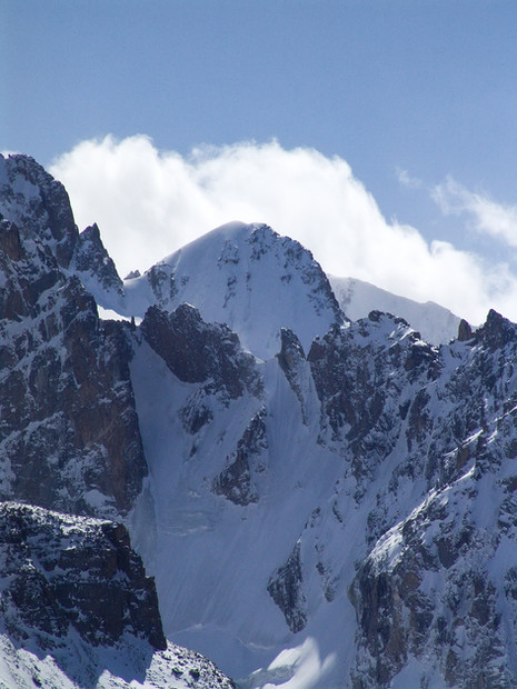 Peak Izyskatel, Kyrgyzstan