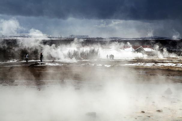 Geysir Geothermal Field, Iceland
